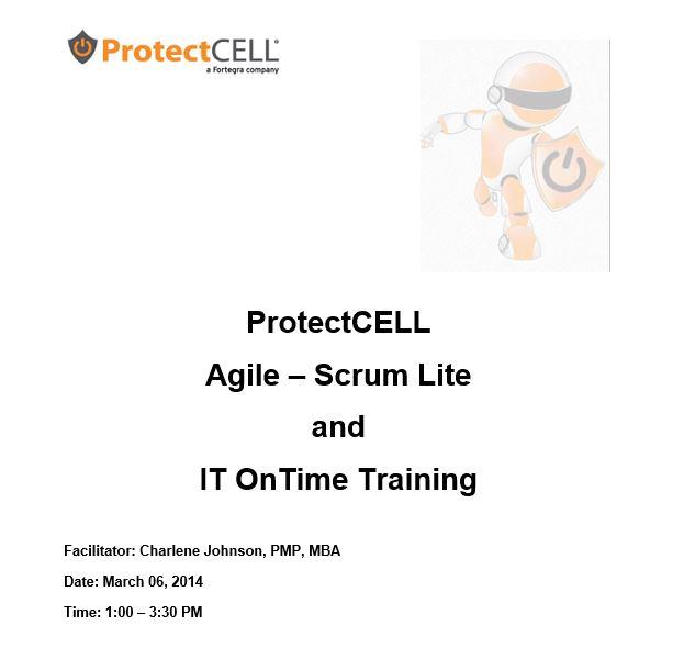 Agile/ Scrum Training